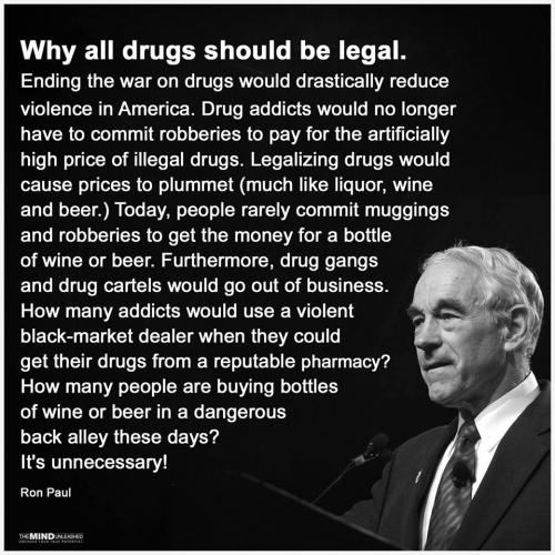 Why all drugs should be legal