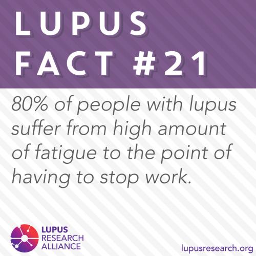 Lupus Fact #21