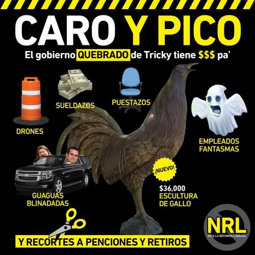 No hay chavos dice Ricky Rosselló